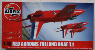 Airfix 1/48 05124 Folland Gnat T.1